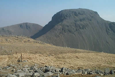 Great Gable seen from near Beck Head