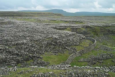 Moughton Scar - the sheer scale of this area is impressive