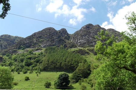 Photo from the walk - The Aran Ridge from Cwm Cywarch