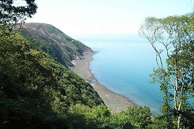 South West Coast Path between Lynmouth & Porlock