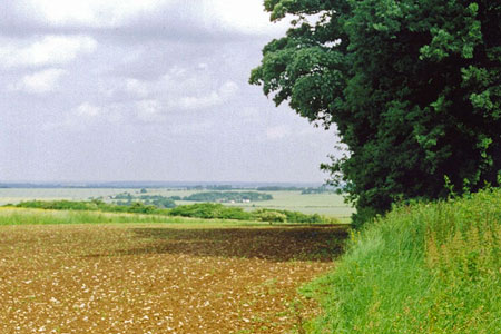 Looking over Bedfordshire from the Icknield Way