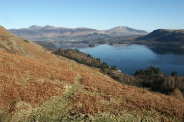 Photo from the walk - Cat Bells & High Spy from Grange