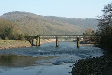 Photo from the walk - Devil's Pulpit & Brockweir from Tintern, Wye Valley