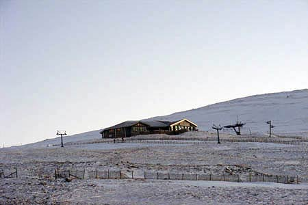 Ptarmigan Station, the highest restaurant in the Britain