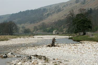 The River Skirfare below Arncliffe in Littondale