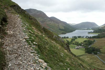 Photo from the walk - Fleetwith Pike & Haystacks from Gatescarth