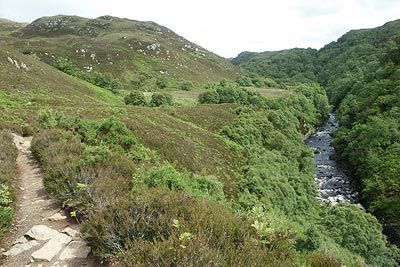 Photo from the walk - Falls of Kirkaig from Inverkirkaig