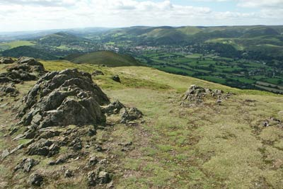 Photo from the walk - Caer Caradoc & Hope Bowder Hill from Church Stretton