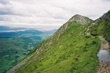 Path leading to Cnicht summit
