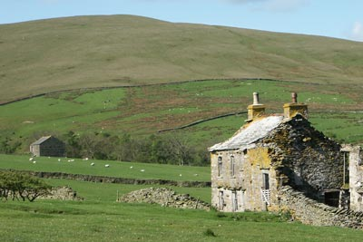 Photo from the walk - Randygill Top from Weasdale, Howgills