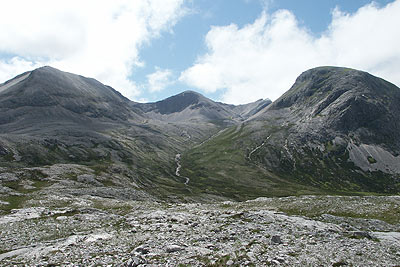 Photo from the walk - Meall a' Ghiubhais from Kinlochewe