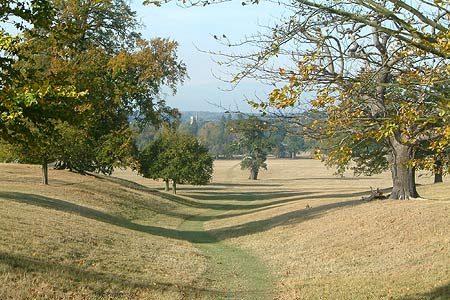 Photo from the walk - The parkland of Woburn Abbey and Eversholt from Woburn