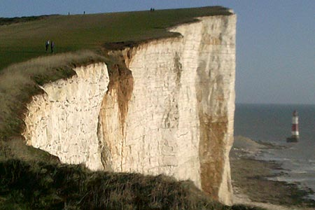 Approach to Beachy Head on the Seven Sisters Walk
