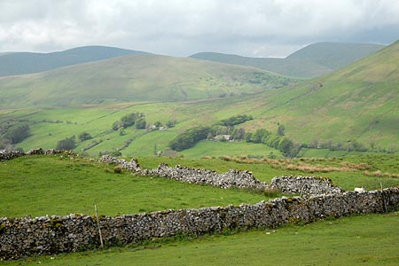 Howgill Fells from Fell End Clouds