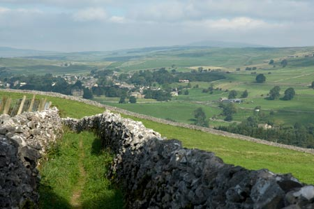 Photo from the walk - Thorpe & Burnsall from Linton