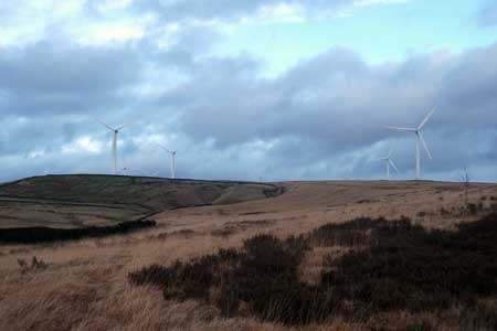 Photo from the walk - Turf Moor, Black Hill and Knowl Moor From Ashworth Resovoir