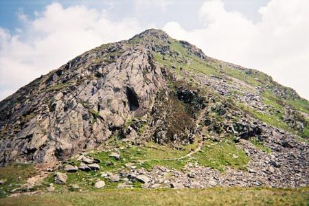 Photo from the walk - Cnicht and Moelwyn Mawr from Croesor