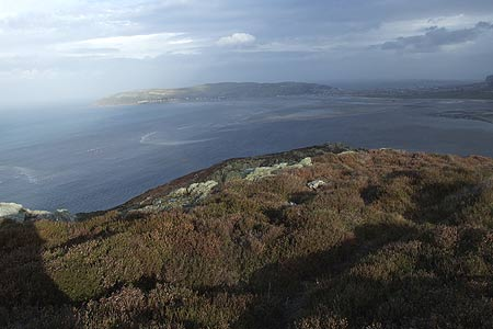 The Great Orme from the summit of Alltwen