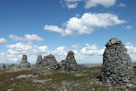 Photo from the walk - Nine Standards Rigg from Kirkby Stephen