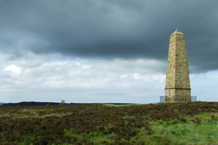 Captain Cooks Monument near to Easby