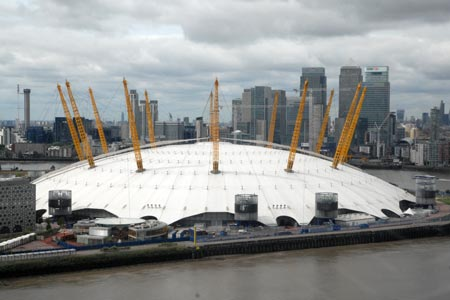 Photo from the walk - Thames Path from North Greenwich to Cutty Sark
