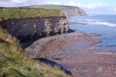 Photo from the walk - Boulby Mine to Whitby by the Cleveland Way