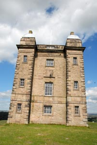View of the Cage, Lyme Park