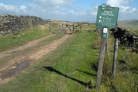 The Gritstone Trail to Bowstonegate, Lyme Park
