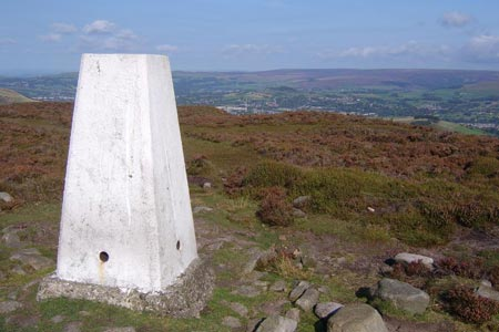 Photo from the walk - Harry Hut, Mill Hill & Doctor's Gate from near Glossop