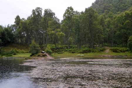Loch Puladdern in the Craigellachie National Nature Reserve