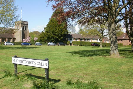 St Christopher's Green, Haslemere