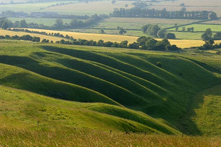 Photo from the walk - Wayland's Smithy & Uffington Castle from Woolstone