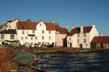 Harbourside houses at Pittenweem