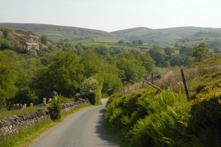 Photo from the walk - Lud's Church and Roach End from Gradbach
