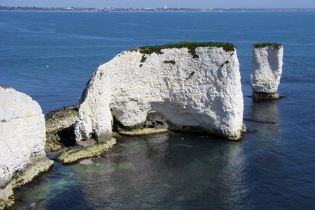 Photo from the walk - Old Harry & Ballard Down from Studland