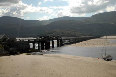 Photo from the walk - Mawddach Bridge and Arthog from Barmouth