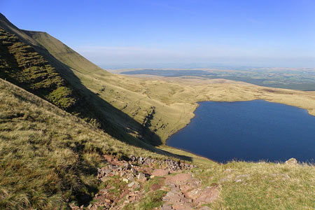 Photo from the walk - Llyn-y-Fan-Fawr, Mynydd Ddu from Llanddeusant