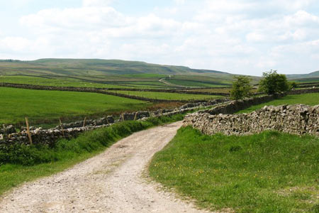 Photo from the walk - Haw Lane & Aysgarth Moor from Aysgarth