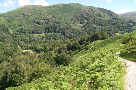 Photo from the walk - Rydal Water & Grasmere from Grasmere
