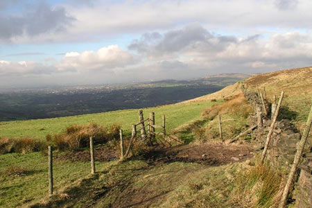 Photo from the walk - Cown Edge from Broadbottom