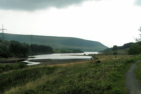 Photo from the walk - Longdendale from Hadfield Station