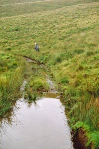 Walk from Bont-goch can be full of water - 2008