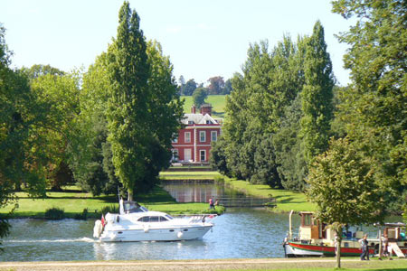 Fawley Court from Remenham, Thames Path