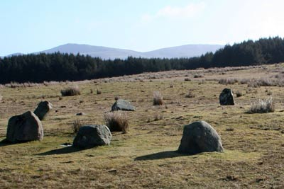 Photo from the walk - Grike and Caw Fell from Kinniside Stone Circle