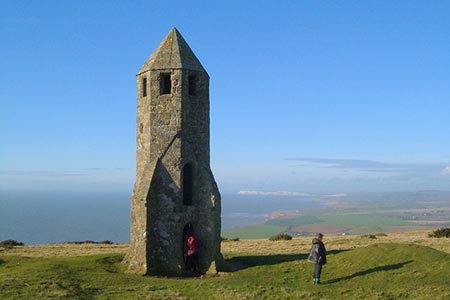 Photo from the walk - St Catherine's Hill & Coastal Path