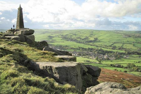 Photo from the walk - Lothersdale from Cowling