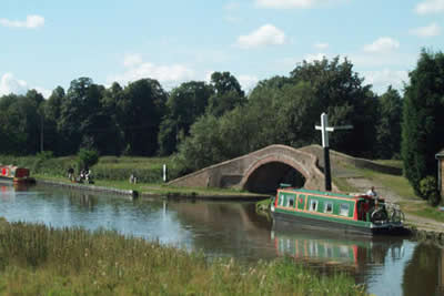 Great Haywood junction, Trent & Mersey and Staffs & Worcs Canals