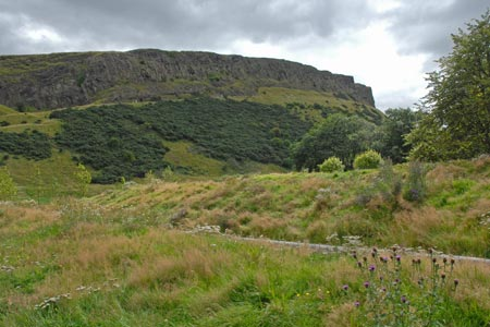 Photo from the walk - Edinburgh - Salisbury Crags and the Royal Mile