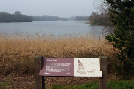 Photo from the walk - A circuit of Virginia Water