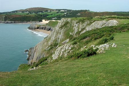 Photo from the walk - Three Cliff Bay & Ilston Cwm from Southgate